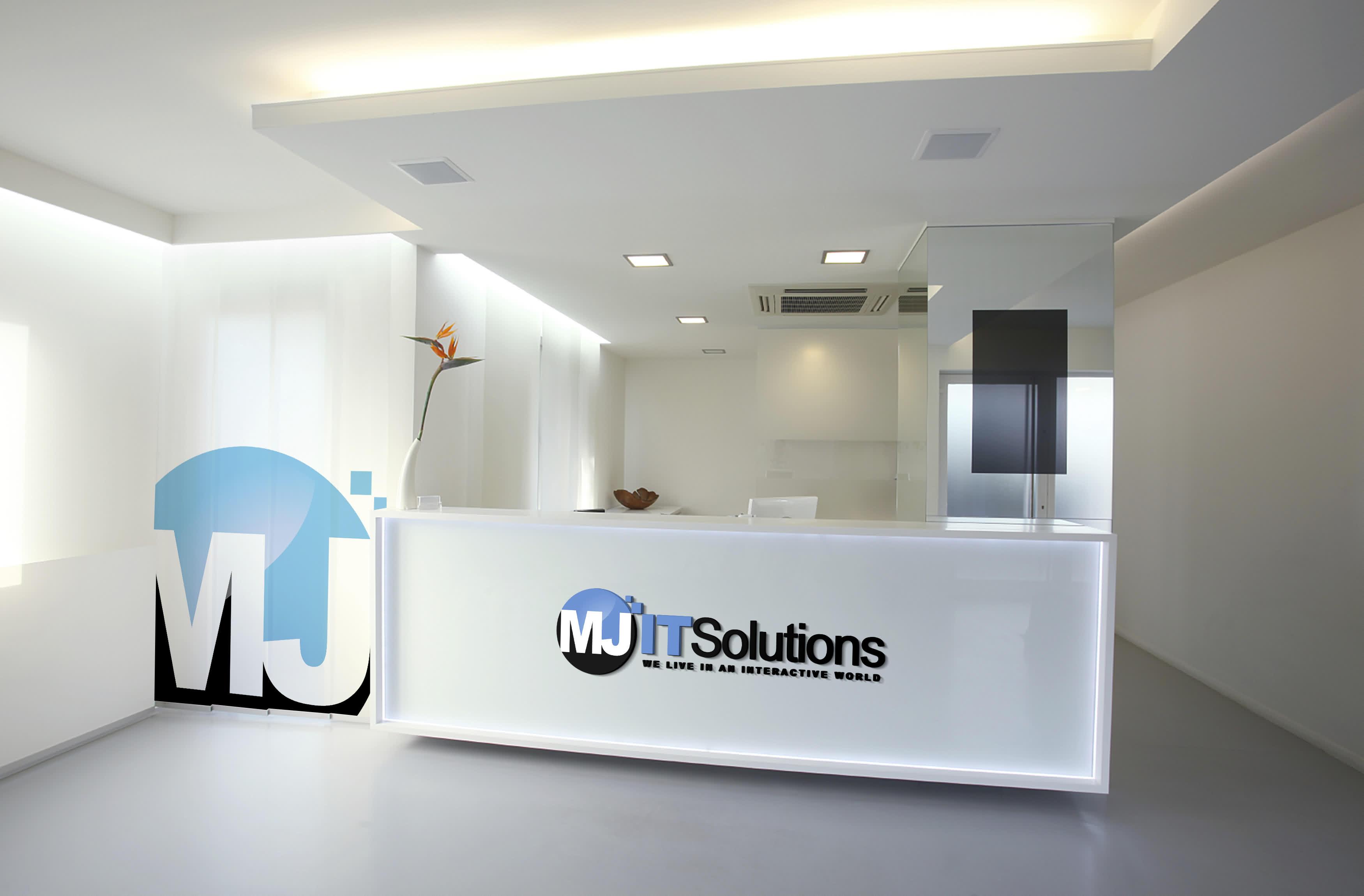 Mj it office west door entrance for Office door entrance designs
